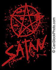 satan, täcka
