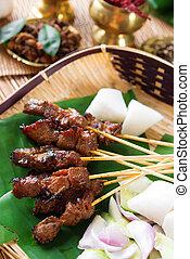 Satay Singapore food