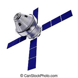 satelita, odizolowany