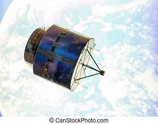 satelita, orbita, przestrzeń
