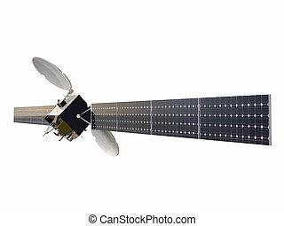 satelite isolated on white background