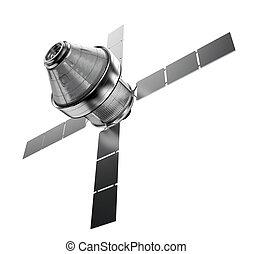 satellit, isoleret