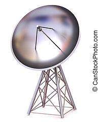 satellite., 3d