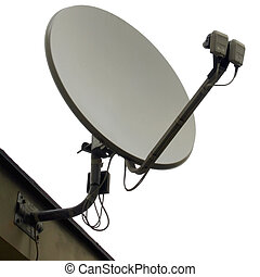 Satellite dish aerial antenna