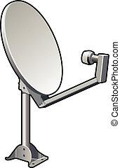 Satellite Dish - Satellite dish similar to what could be...
