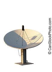 Isolated satellite dish