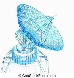 Satellite dish - Satellite dish