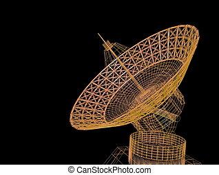 satellite, dishe