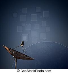 satellite dishes antenna