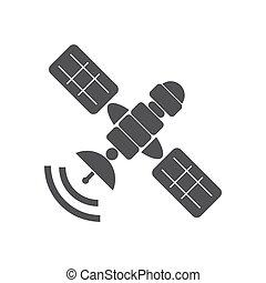 Satellite illustration vector