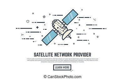 Satellite line concepts