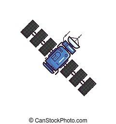 Satellite on orbit