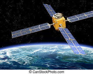 satellite orbitant