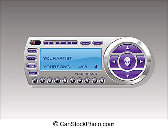 Satellite Radio media MP3 player - Satellite Radio Receiver...