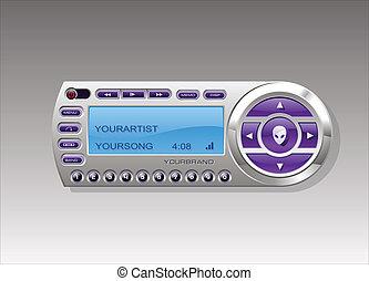 Satellite Radio media MP3 player - Satellite Radio Receiver ...