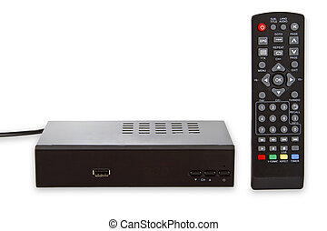 Satellite Receiver with Remote control
