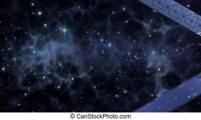 satellite, sonde, profond, espace