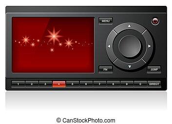Satellite Stereo Radio Receiver