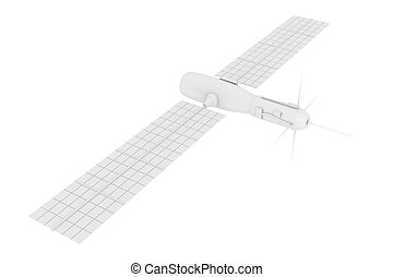 Satellite - A communication/scientific satellite. Isolated...