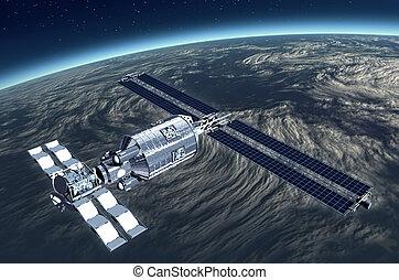 satellite, telecomunicazione