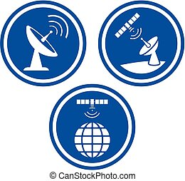 Satellite wireless communication