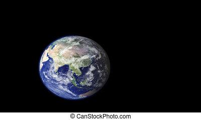 satellitenaufnahmen, zu, tokyo, zoom