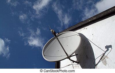 satellitenschüssel, antenne