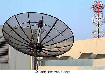 satellites, télécommunications