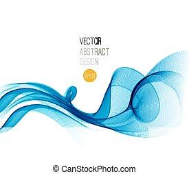 satin., 青, ひだのある布, 背景, 美しい
