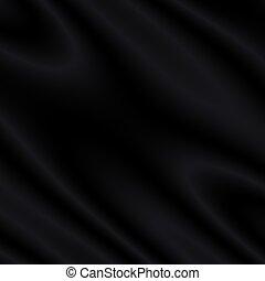 satin/silk/velvet, svart fond