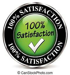 satisfacción, diseño, icono