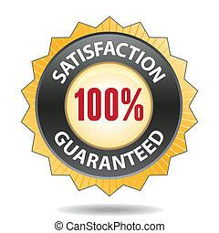 satisfaction badge