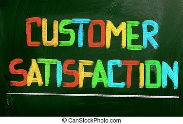 satisfaction client, concept