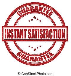 satisfaction, instant