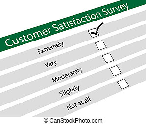 satisfaction, questionnair, curstomer
