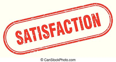 satisfaction stamp. satisfaction square grunge sign....