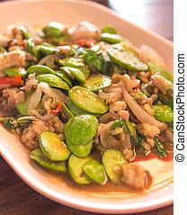 Sato Spicy fried minced pork