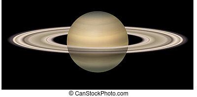 Saturn - Illustration of Saturn