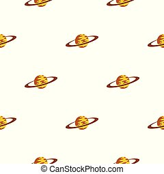 Saturn pattern seamless