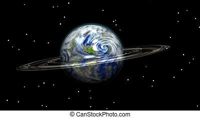 Saturnian earth