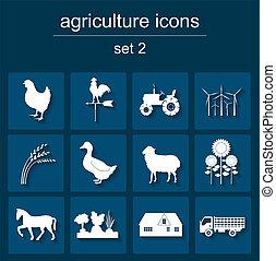 satz, ackerbau, tier, landwirtschaft