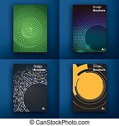 satz, app, modern, infographic, design, interface., template., design., web, concept., templates., wohnung, web, saas, icons., linie, post, beweglich, technologie, beweglich, brochures., ui