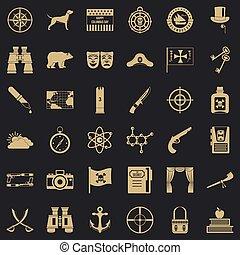 satz, einfache , stil, abenteuer, heiligenbilder