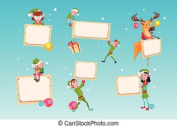 satz, gruppe, helfer, zeichen, weihnachtshelfer,...
