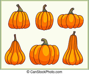 satz, pumpkins.