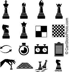 satz, schach, heiligenbilder