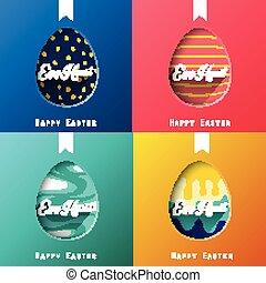 satz, vier, eier
