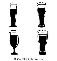 satz, von, bier brille