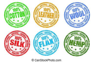 satz, von, briefmarken