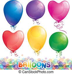 satz, von, luftballone